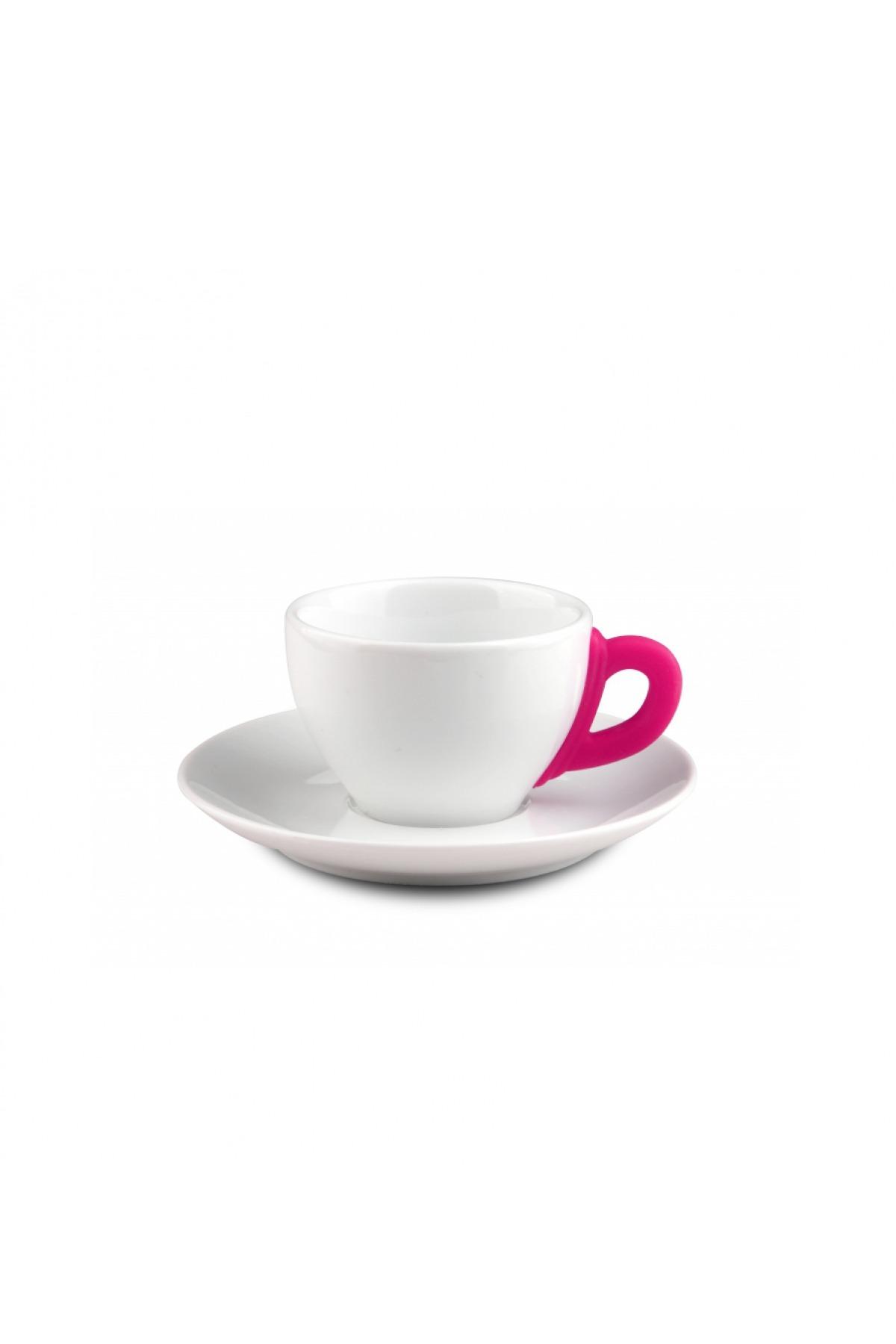 Kütahya Porselen 17 Parça Çay Seti Pembe