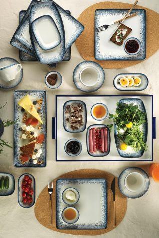 Corendon - Kütahya Porselen Nanokrem 32 Parça Kahvaltı Takımı 890004