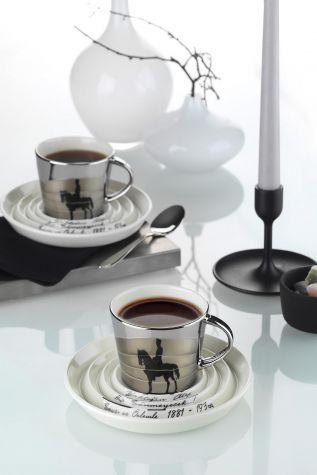 Kütahya Porselen - Atamıza Minnet Atatürk Çay Takımı