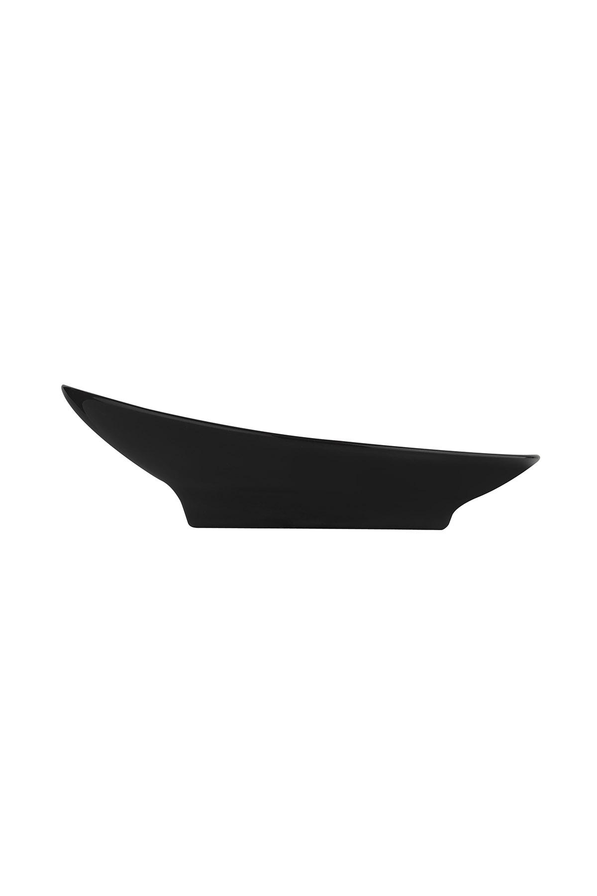 Aura 20 cm Çukur Tabak Siyah