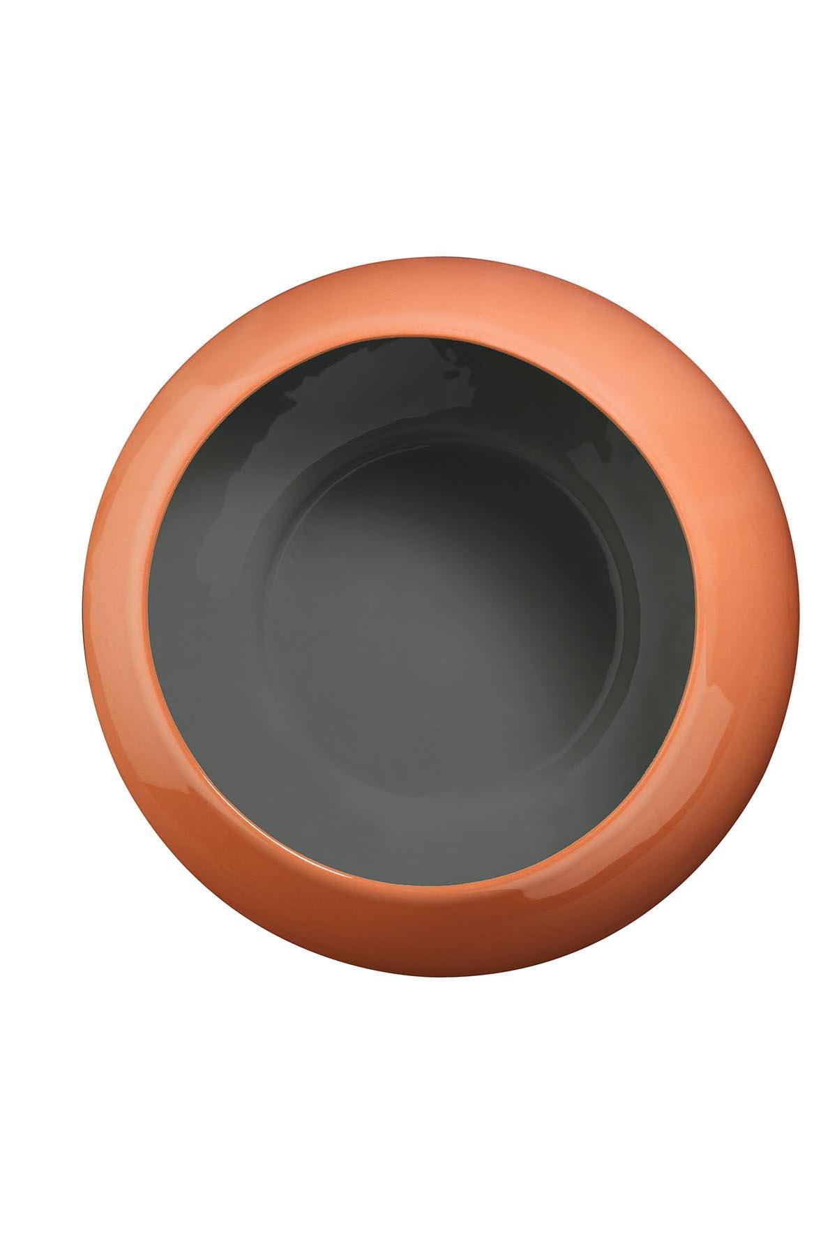 Aura 23 cm Kase 3 Renkli Yeşil-Kırmızı-Siyah