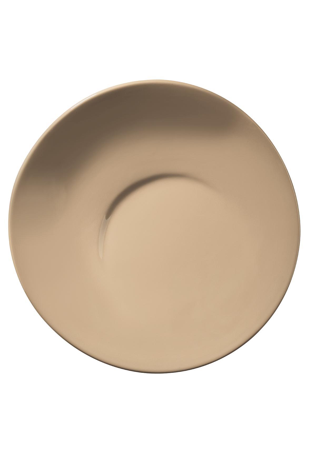 Kütahya Porselen - Aura 25 Cm Düz Tabak Bej