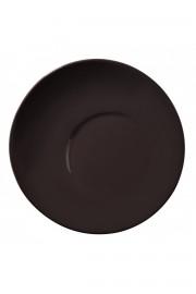 Aura 25 cm Düz Tabak Siyah - Thumbnail