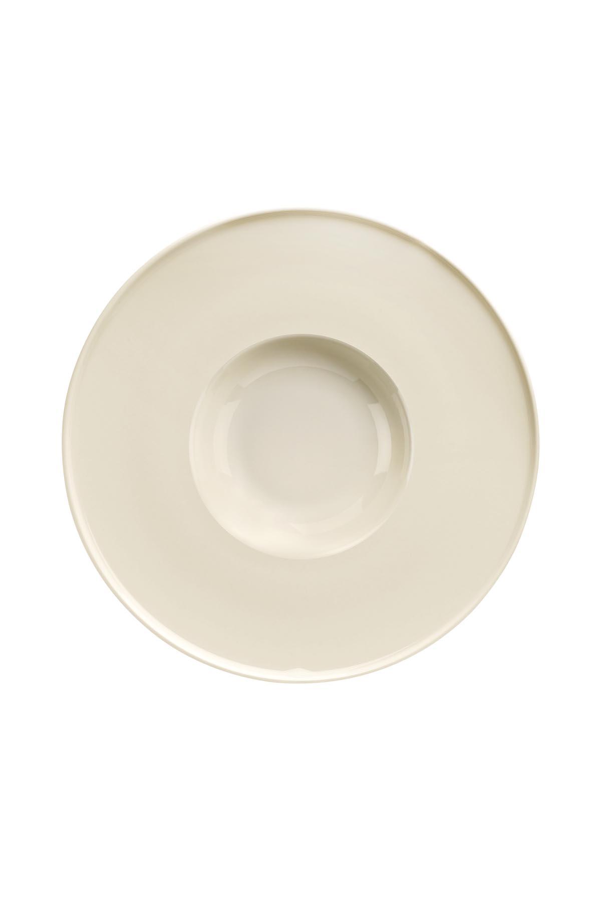 Kütahya Porselen - Kütahya Porselen Chef Taste Of 24 cm Spagetti Tabağı Krem