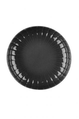 Kütahya Porselen - Crest 15 cm Kase Siyah