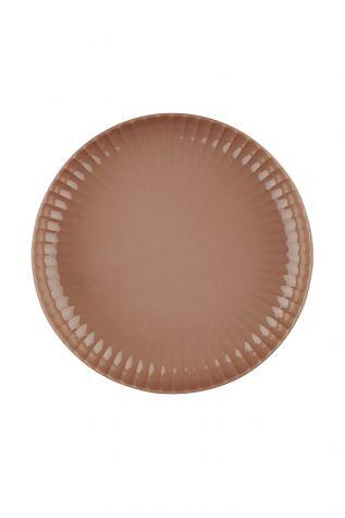 Kütahya Porselen - Crest 20 cm Çukur Tabak Kırmızı