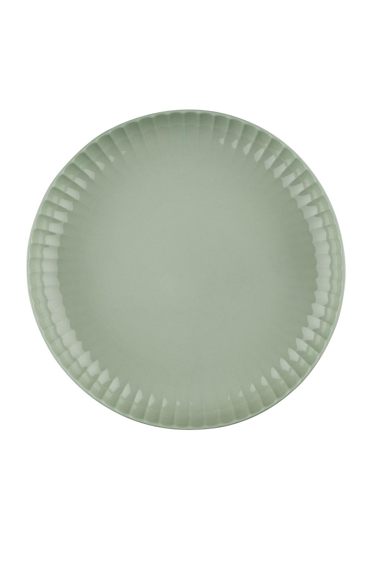 Crest 20 cm Çukur Tabak Yeşil