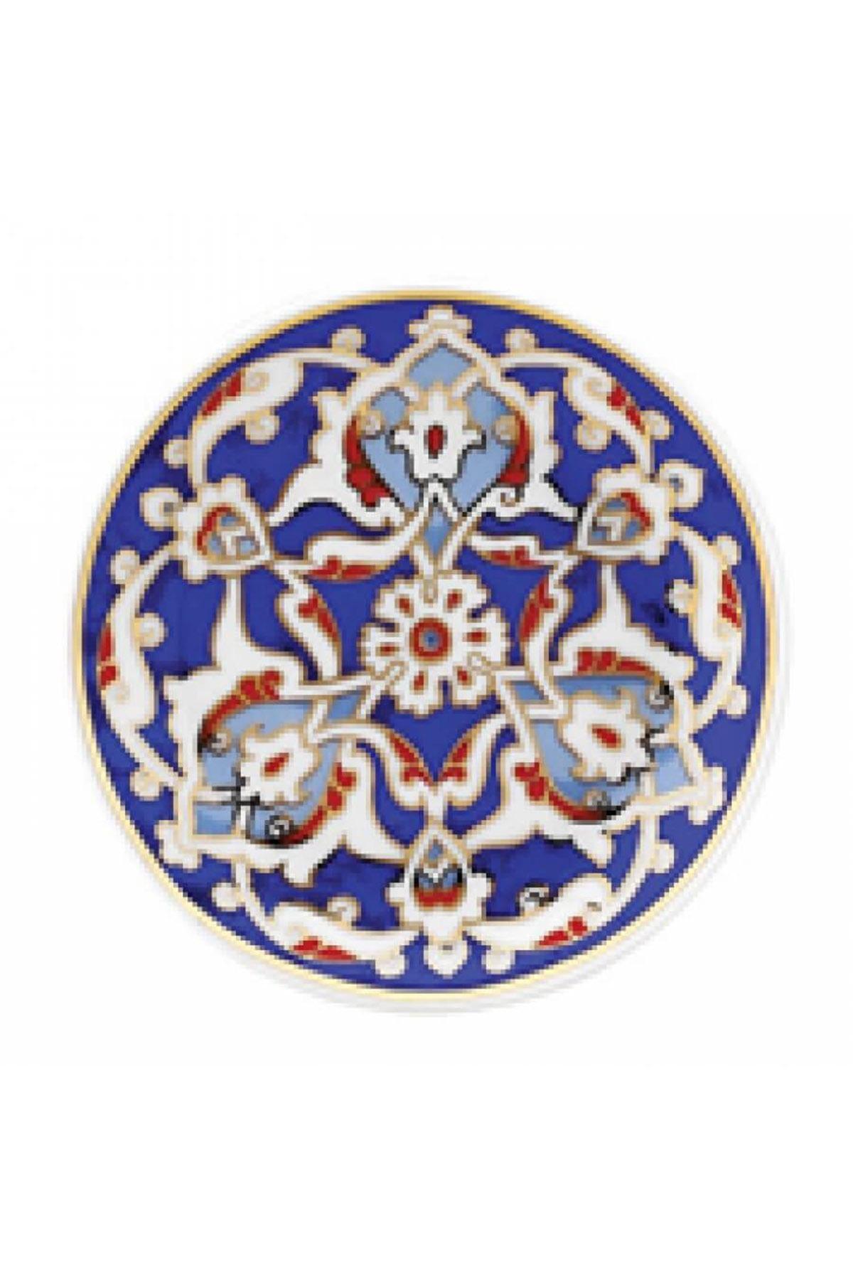 KÜTAHYA PORSELEN - Duvar Tabağı 10 Cm Dekor No:177