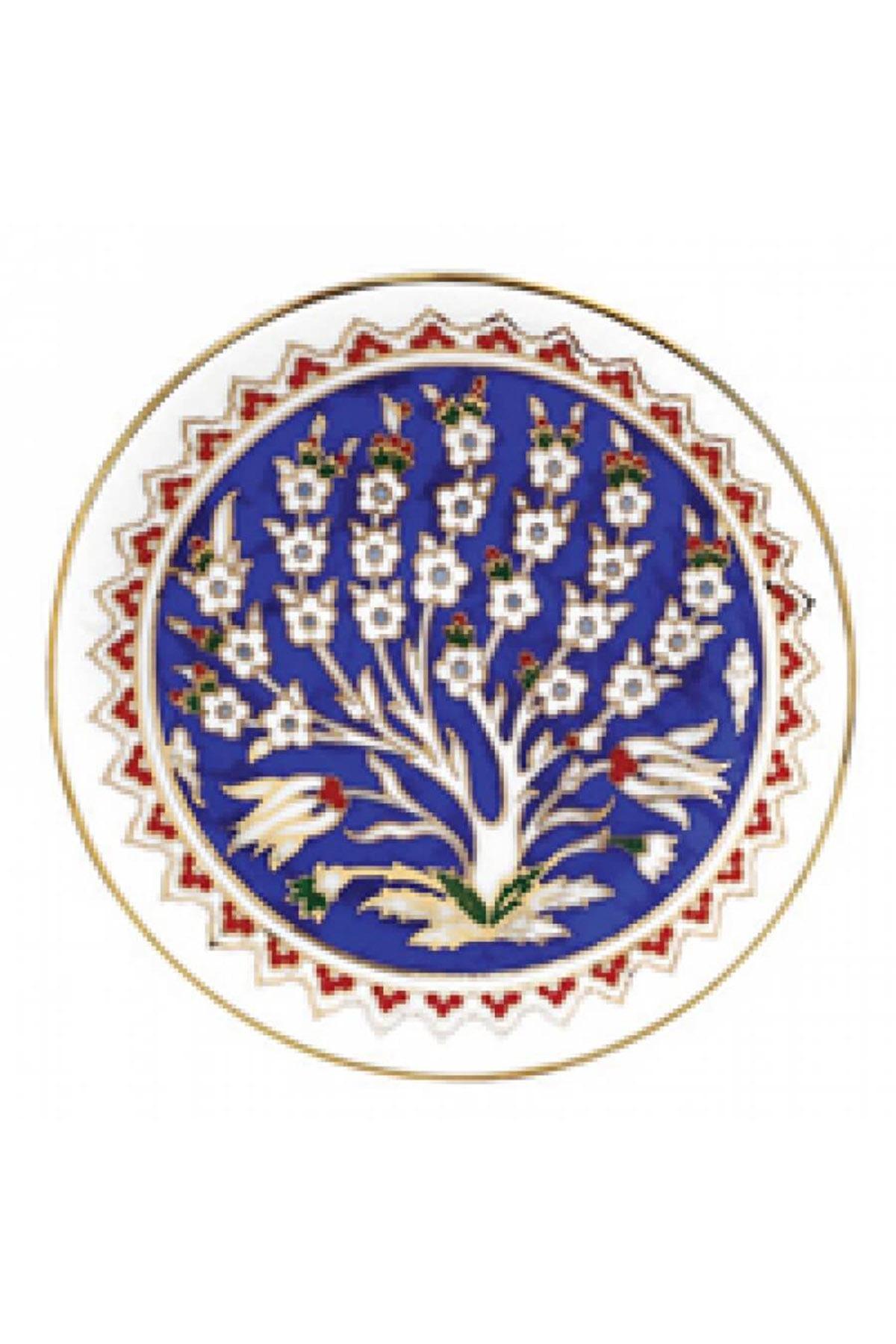 KÜTAHYA PORSELEN - Duvar Tabağı 13 Cm Dekor No:168
