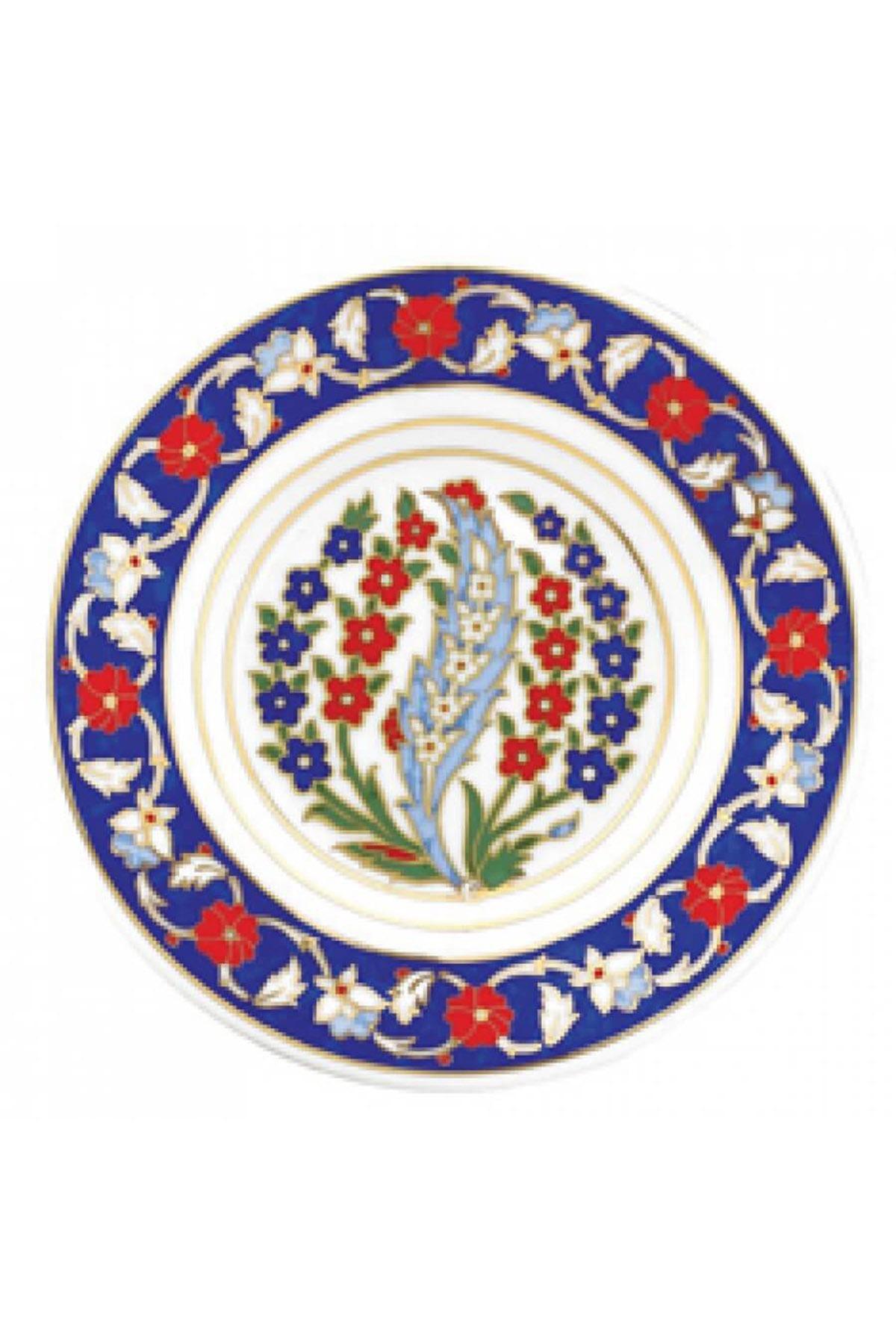 KÜTAHYA PORSELEN - Duvar Tabağı 17 Cm Dekor No:158