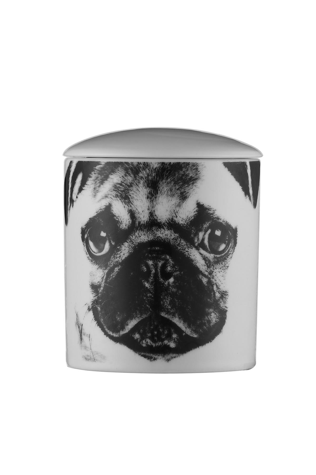 Kütahya Porselen Bardak Mum Köpek Desen