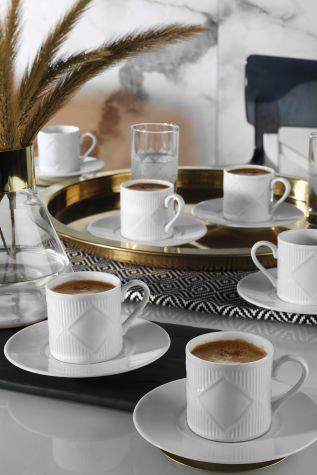 Kütahya Porselen Eren Kahve Takımı - Thumbnail (1)