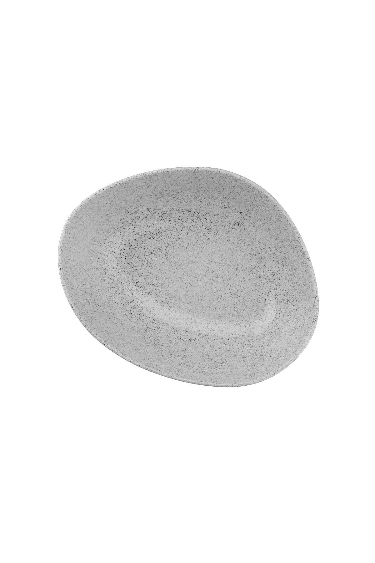 Kütahya Porselen - Galaxy 18 Cm Kase Mix Granul Krem Mat
