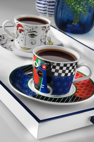 Kütahya Porselen - Itır Çay Takımı 10878 Desen