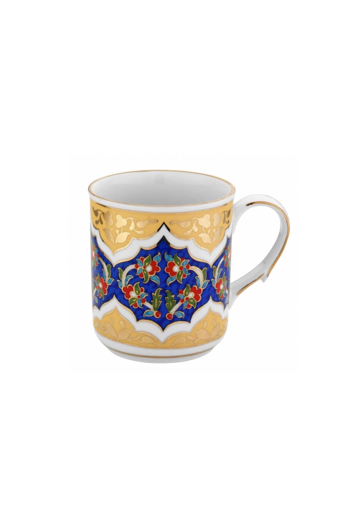Kütahya Porselen - Kupa Bardak Dekor No:3880