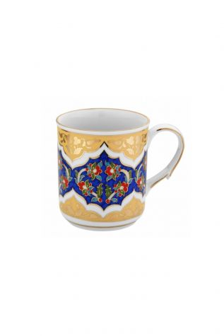 Kütahya Porselen - Kütahya Porselen Kupa Bardak Dekor No:3880