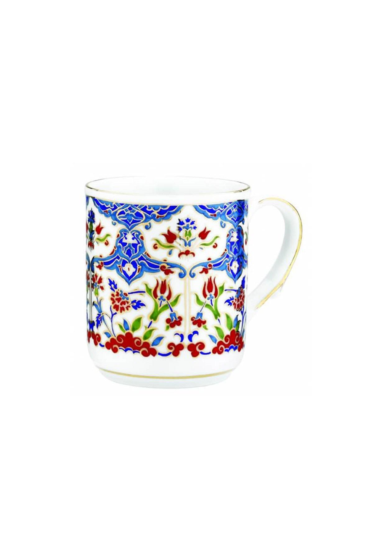 Kütahya Porselen - Kupa Bardak Dekor No:415