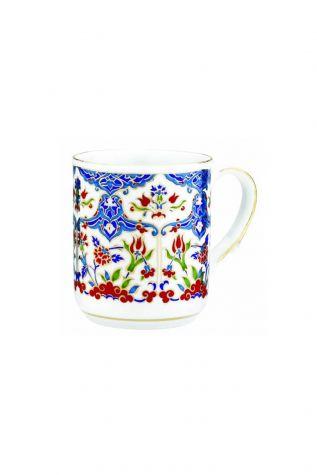 Kütahya Porselen - Kütahya Porselen Kupa Bardak Dekor No:415