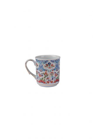 Kütahya Porselen Kupa Bardak Dekor No:415 - Thumbnail (1)