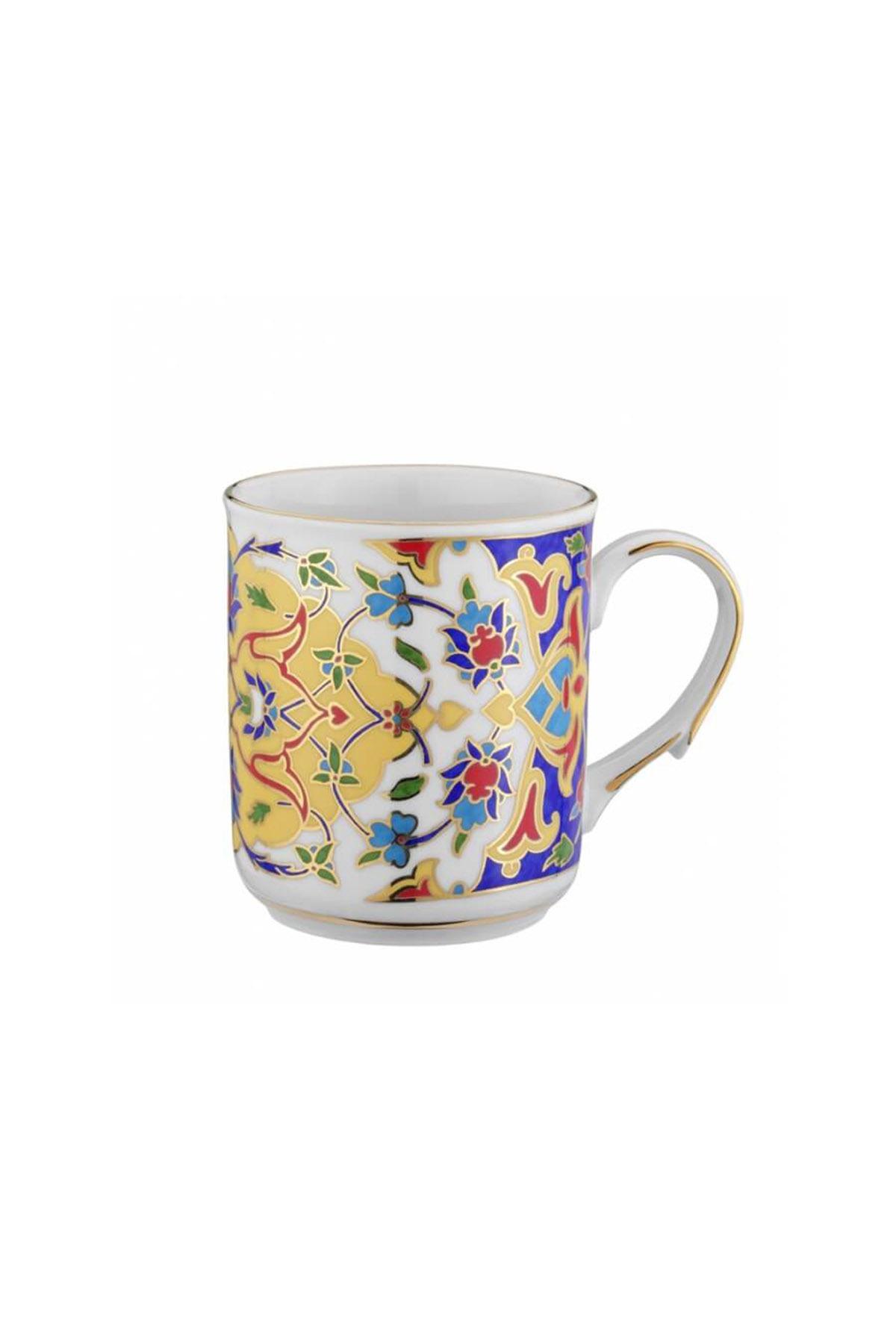 Kütahya Porselen - Kupa Bardak Dekor No:424