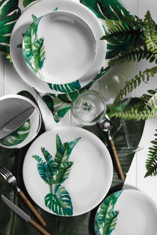 Kütahya Porselen - Kütahya Porselen 10150 Desen 24 Parça Yemek Seti