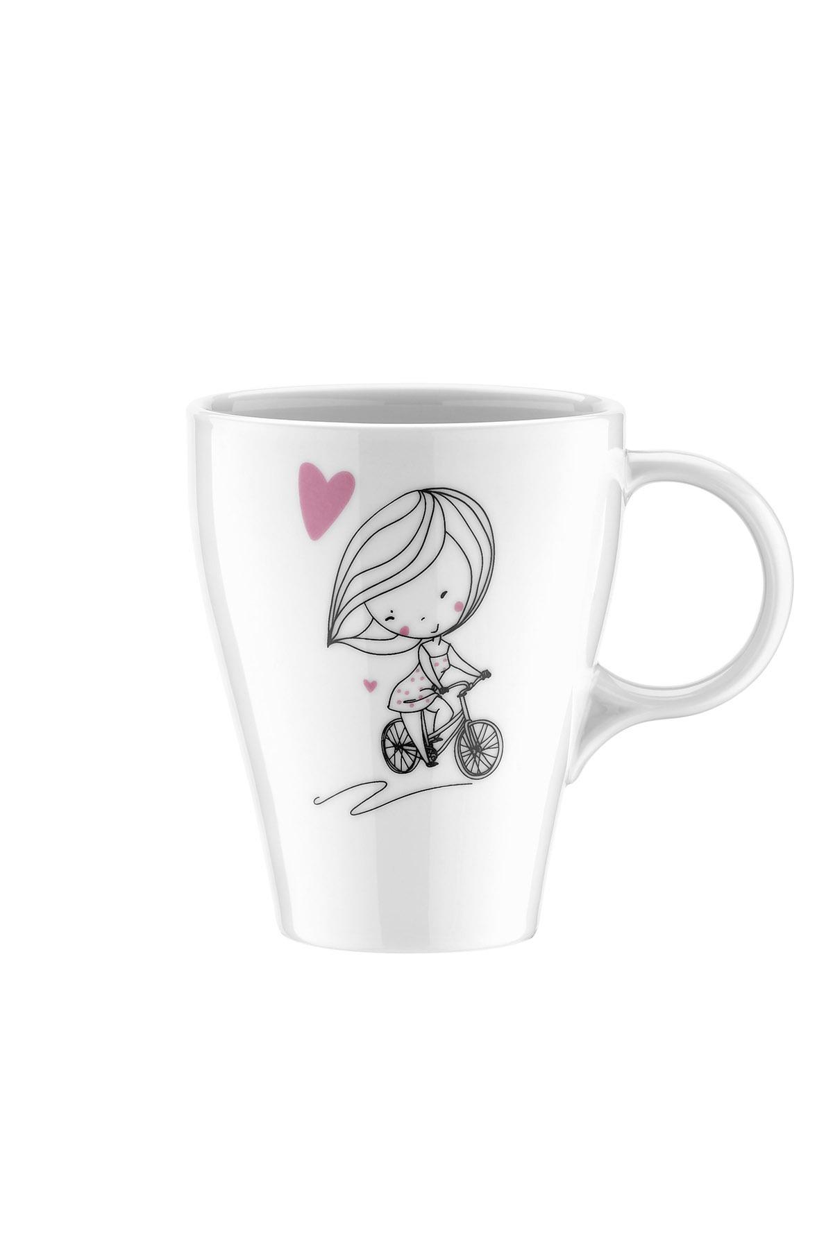Kütahya Porselen - Kütahya Porselen 10156 Desen 2li Mug Bardak