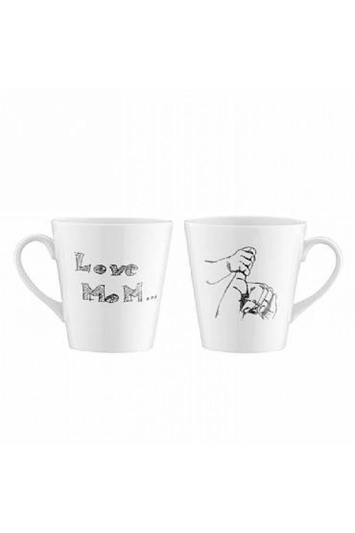 Kütahya Porselen - Kütahya Porselen 10227 Desen 2li Mug Bardak