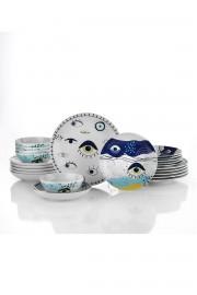 Kütahya Porselen 11013 Desen 24 Parça Yemek Seti - Thumbnail
