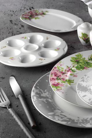 Kütahya Porselen - Kütahya Porselen Leonberg 22 Parça 10398 Desen Brunch Set