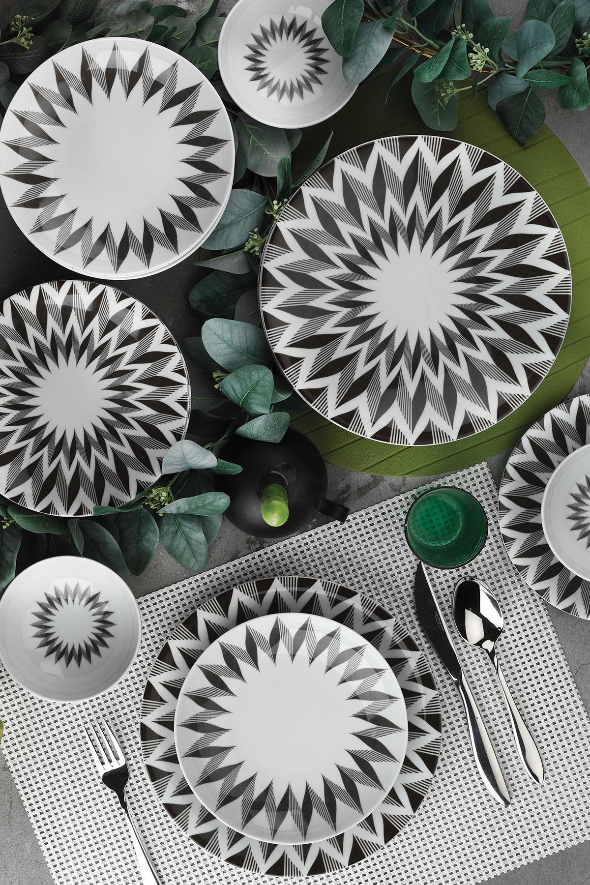 Kütahya Porselen - Kütahya Porselen Nano 24 Parça Yemek Seti 885143