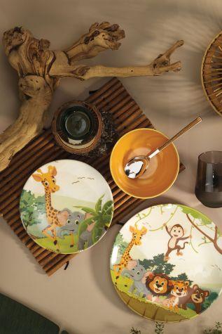 Kütahya Porselen - Kütahya Porselen 3 Parça Çocuk Yemek Seti 880288