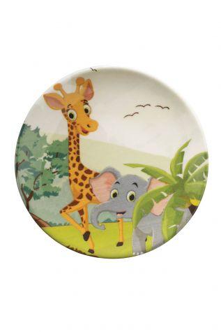 Kütahya Porselen 3 Parça Çocuk Yemek Seti 880288 - Thumbnail (2)