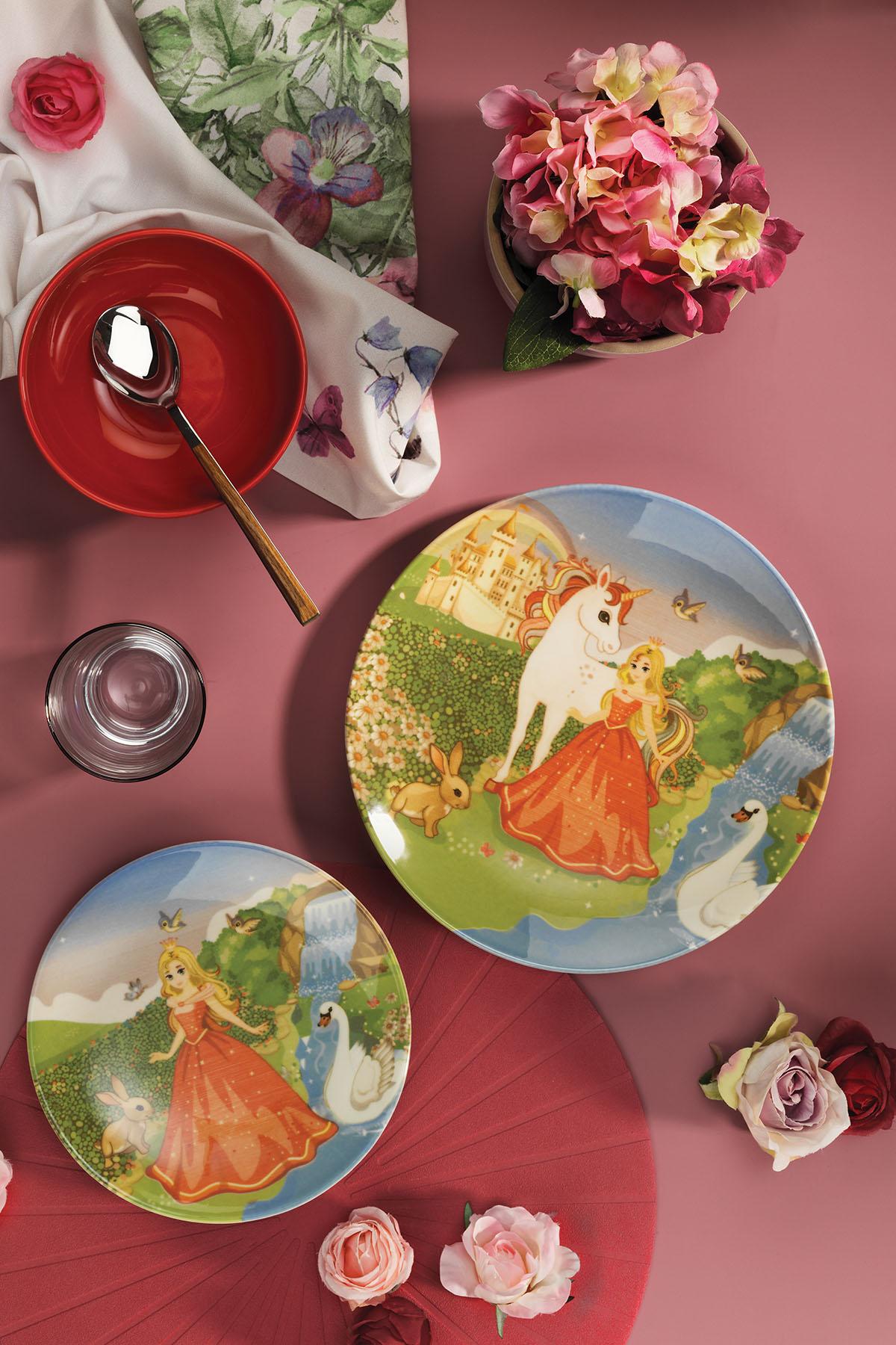 Kütahya Porselen 3 Parça Çocuk Yemek Seti 880289