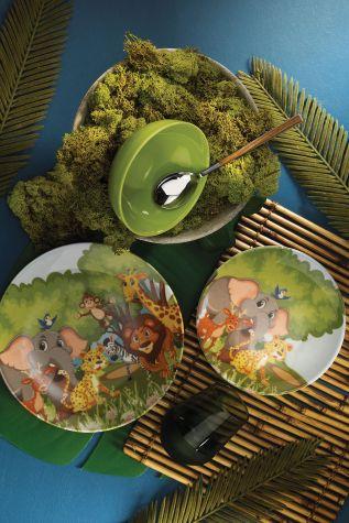 Kütahya Porselen - Kütahya Porselen 3 Parça Çocuk Yemek Seti 880287