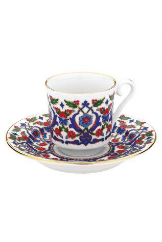 KÜTAHYA PORSELEN - Kütahya Porselen 3643 Desen Kahve Fincan Takımı