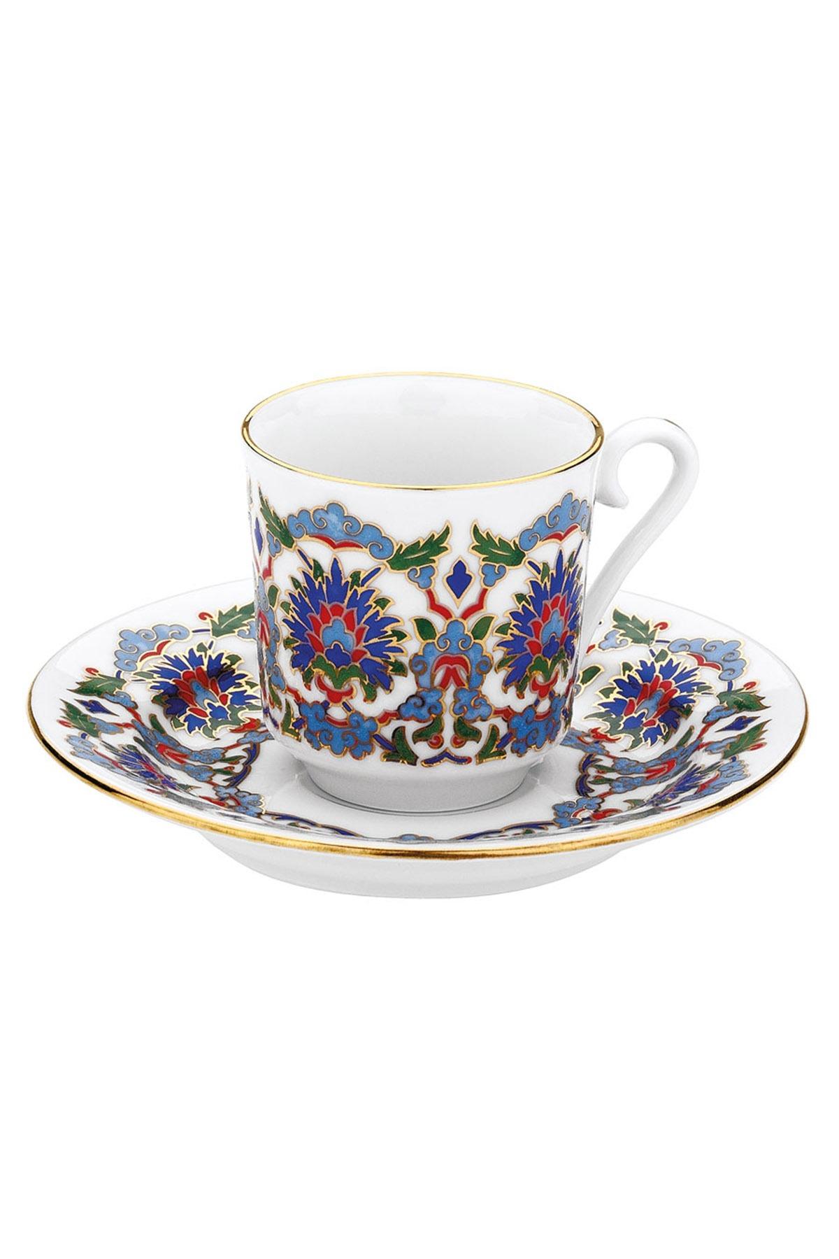 KÜTAHYA PORSELEN - Kütahya Porselen 3644 Desen Kahve Fincan Takımı