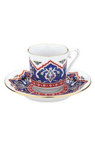 KÜTAHYA PORSELEN - Kütahya Porselen 3646 Desen Kahve Fincan Takımı