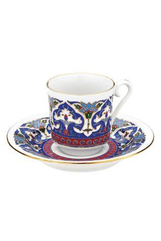 KÜTAHYA PORSELEN - Kütahya Porselen 3648 Desen Kahve Fincan Takımı