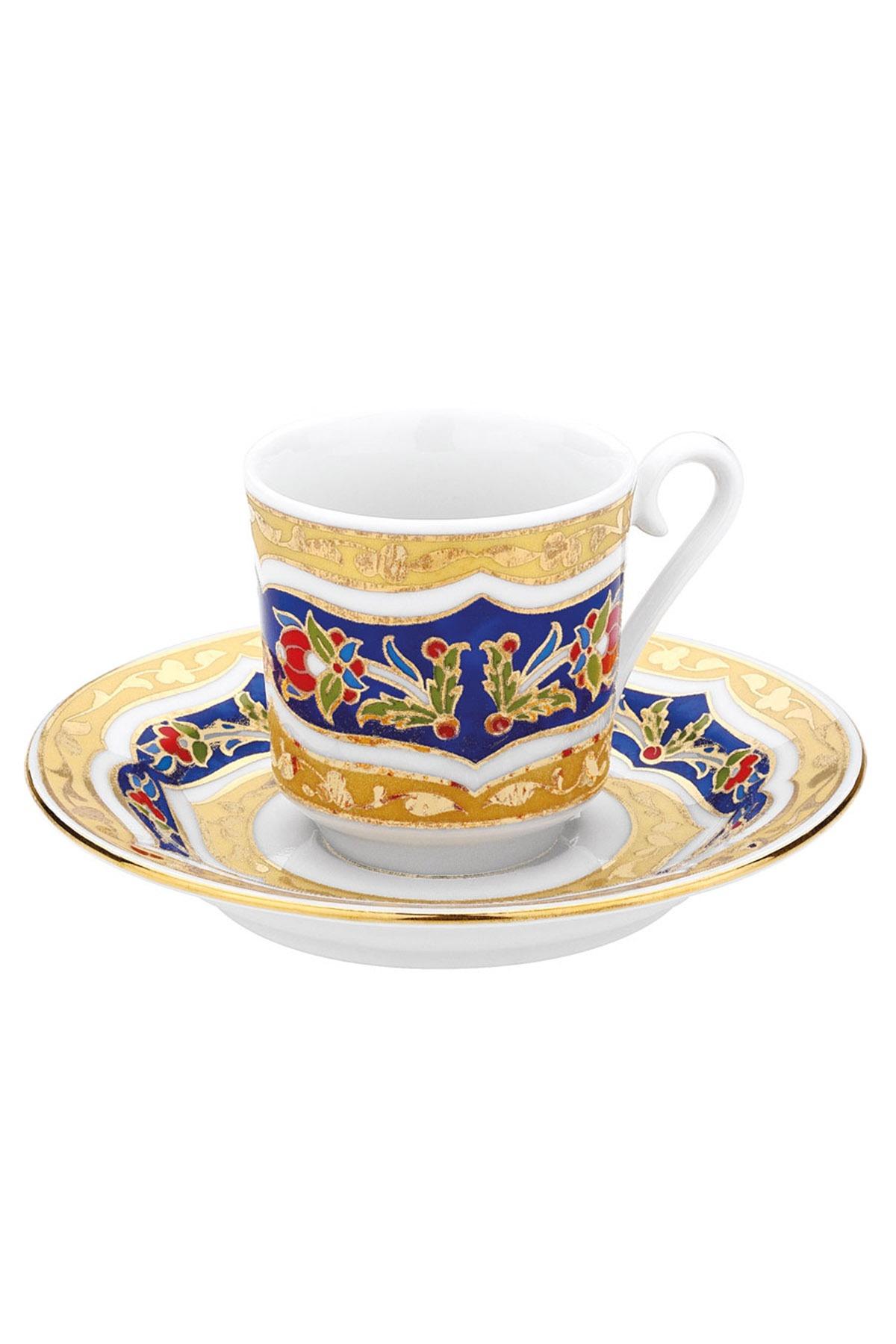 KÜTAHYA PORSELEN - Kütahya Porselen 3880 Desen Kahve Fincan Takımı