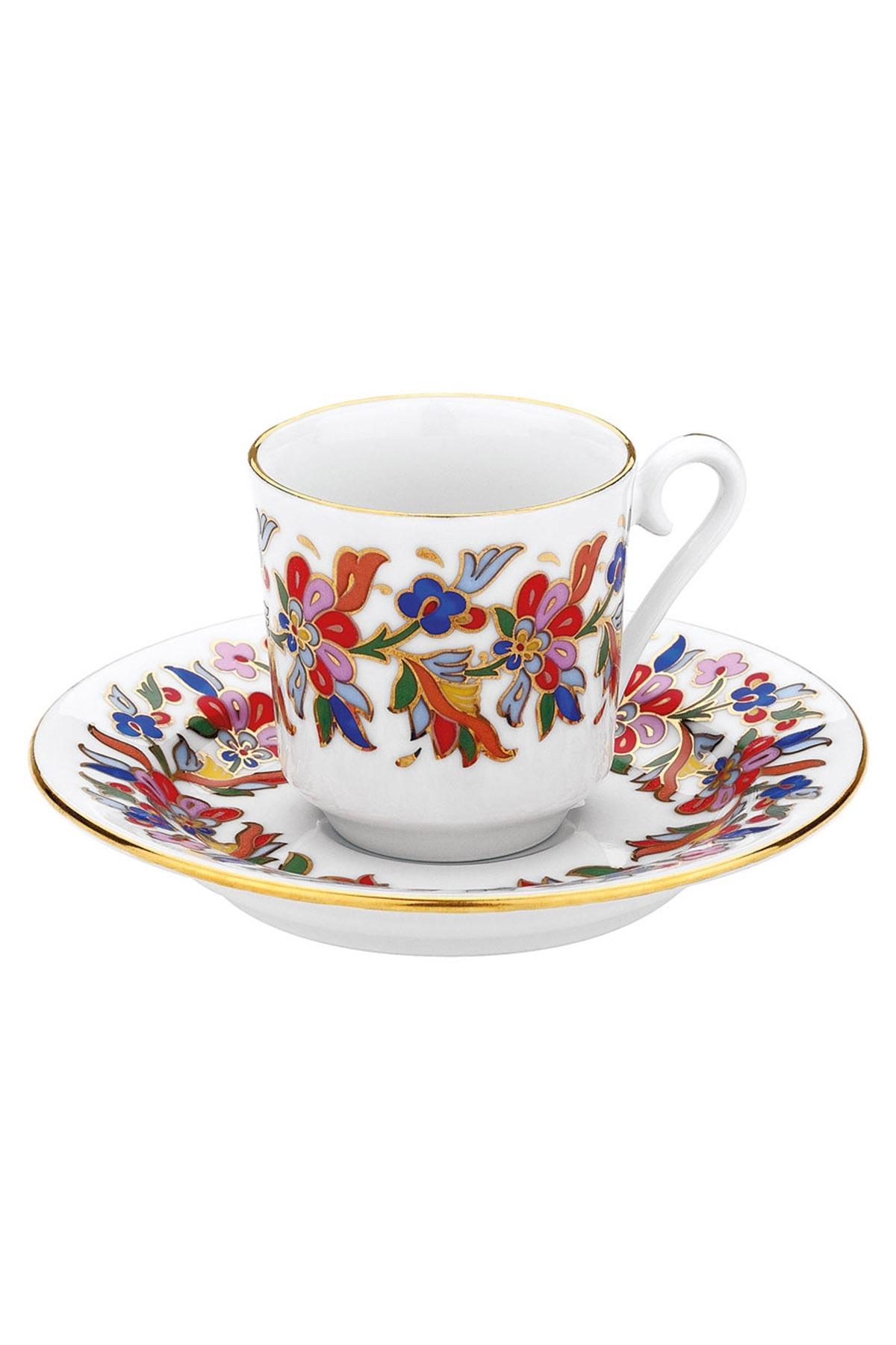 KÜTAHYA PORSELEN - Kütahya Porselen 456 Desen Kahve Fincan Takımı