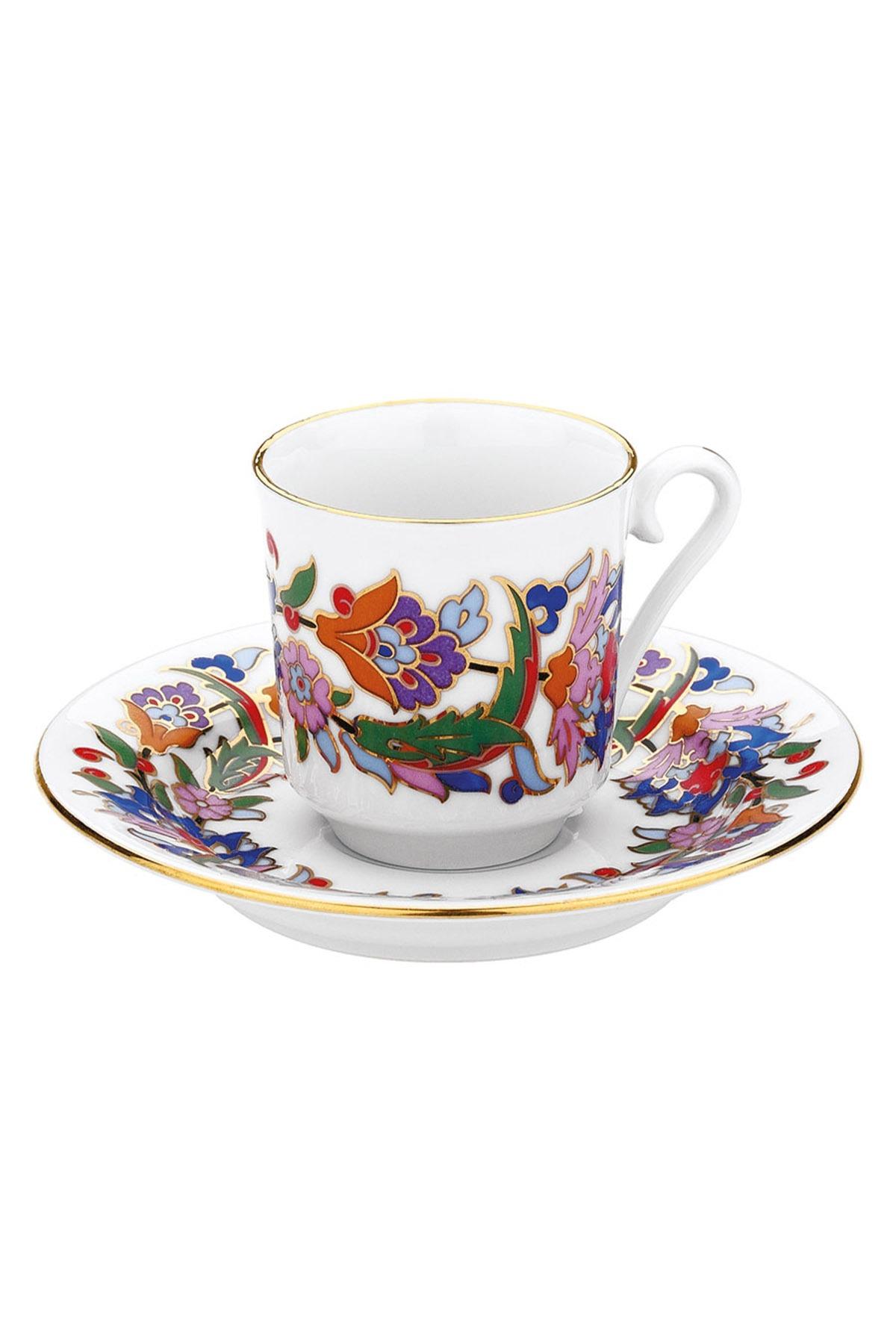 KÜTAHYA PORSELEN - Kütahya Porselen 457 Desen Kahve Fincan Takımı