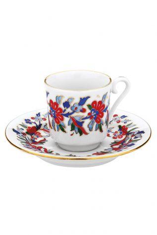 KÜTAHYA PORSELEN - Kütahya Porselen 459 Desen Kahve Fincan Takımı