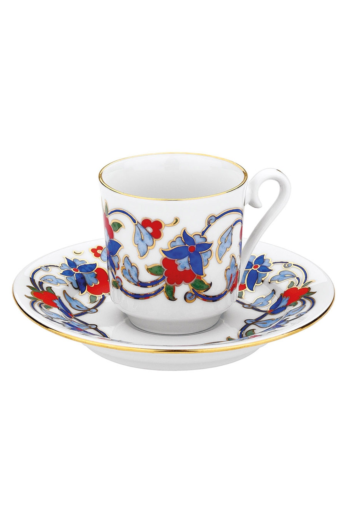 KÜTAHYA PORSELEN - Kütahya Porselen 554 Desen Kahve Fincan Takımı
