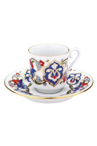 KÜTAHYA PORSELEN - Kütahya Porselen 557 Desen Kahve Fincan Takımı