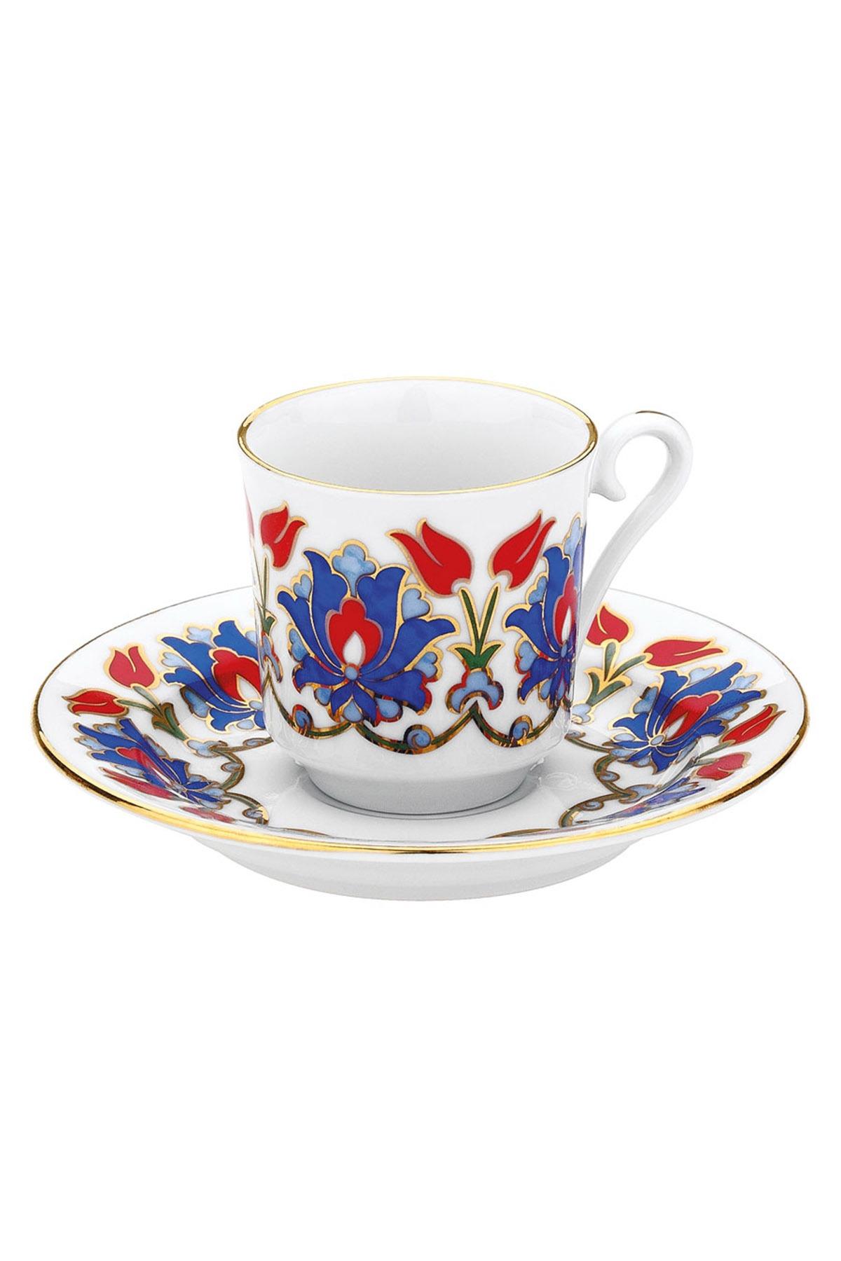 KÜTAHYA PORSELEN - Kütahya Porselen 564 Desen Kahve Fincan Takımı