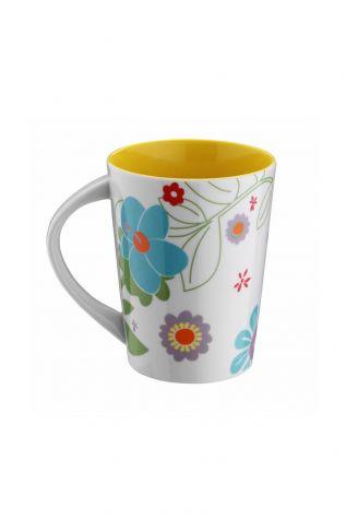 Kütahya Porselen - Kütahya Porselen 6028 Dekor Mug Bardak Sarı