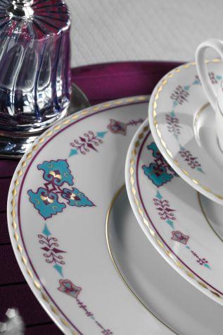 Kütahya Porselen 83 Parça 9297 Desenli Yemek Takımı - Thumbnail (1)