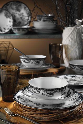 Kütahya Porselen 939012 Desen 24 Parça Yemek Seti - Thumbnail (1)