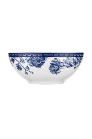 Kütahya Porselen Bleu Blanc 939016 Desen 24 Parça Yemek Seti - Thumbnail (3)