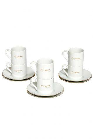 Kütahya Porselen - Kütahya Porselen Atatürk İmzalı Çay Takımı